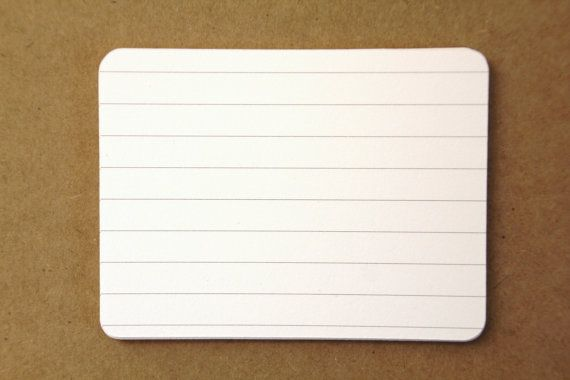 Landscape Die Cut Lined Notebook Paper Cardstock Journaling