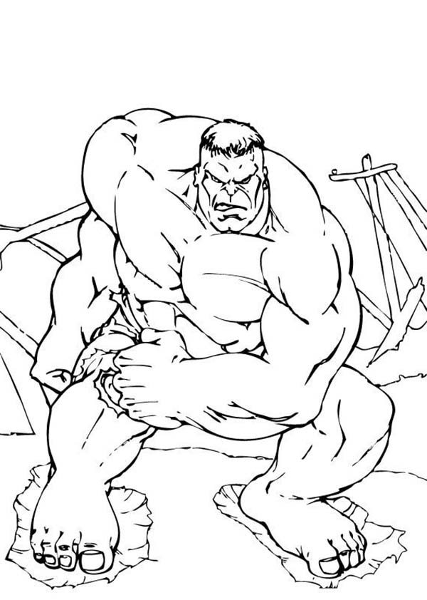 Hulk Jumping From The Bridge Coloring Page Netart Superhero Coloring Pages Minion Coloring Pages Unicorn Coloring Pages