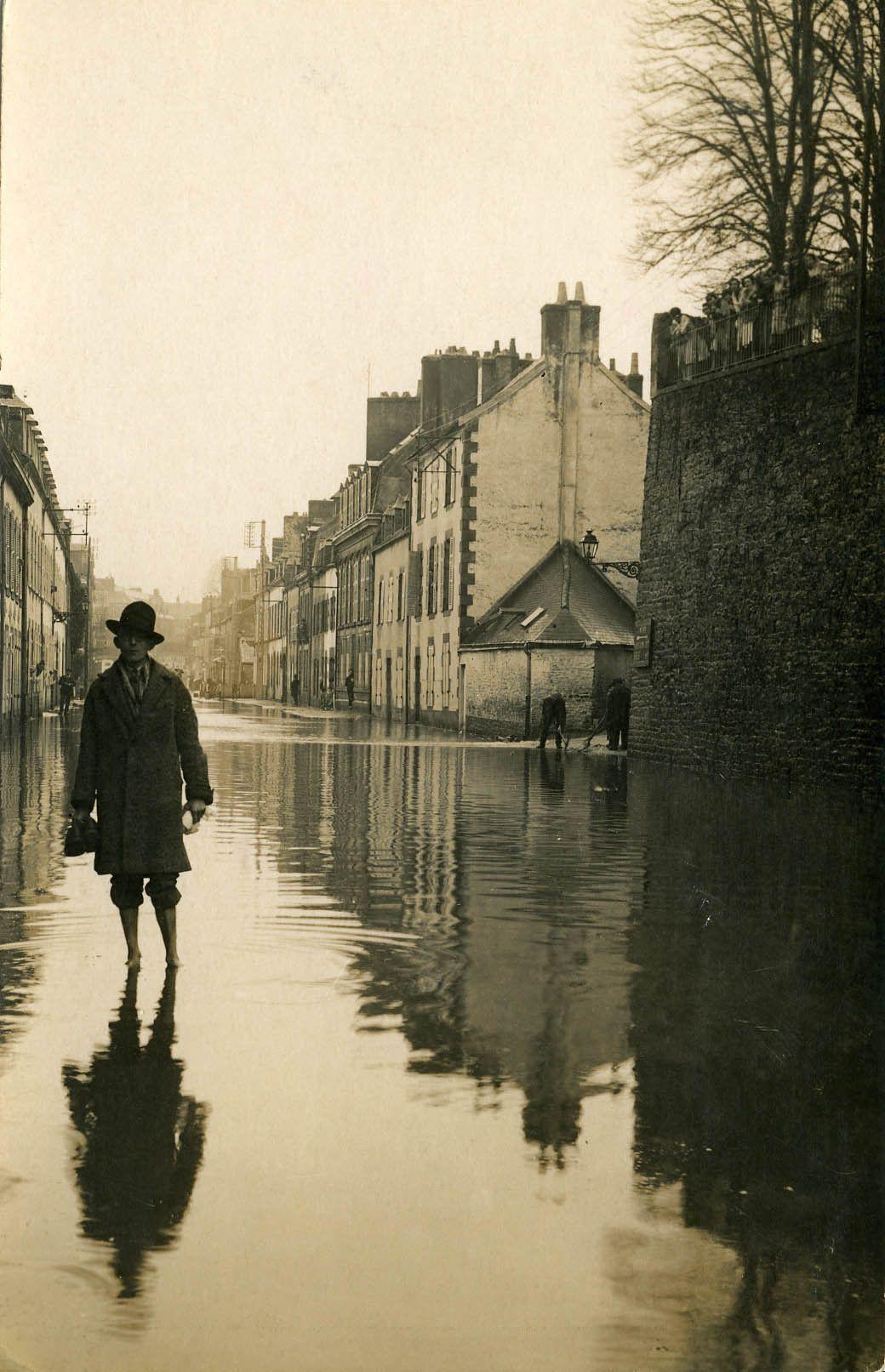 Les Inondations De 1928 Rue De Brest Brest Bretagne Voyage