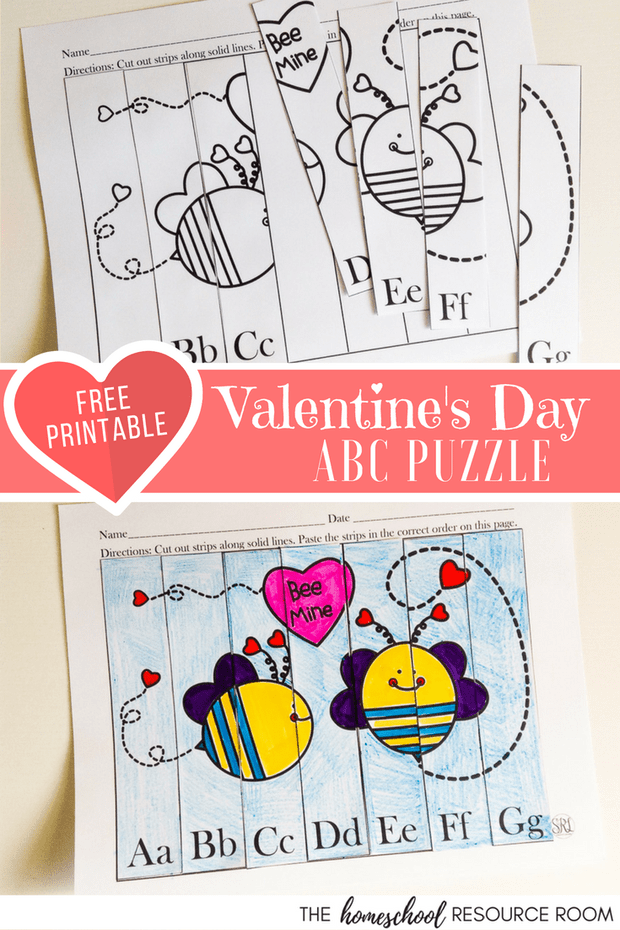 Valentine\'s Day Worksheets for Preschool and Kindergarten ...