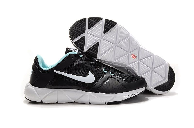 separation shoes 0ab84 6baa5 Nike Free XT Quick Fit Flywire Womens Black Chlorine Blue ...