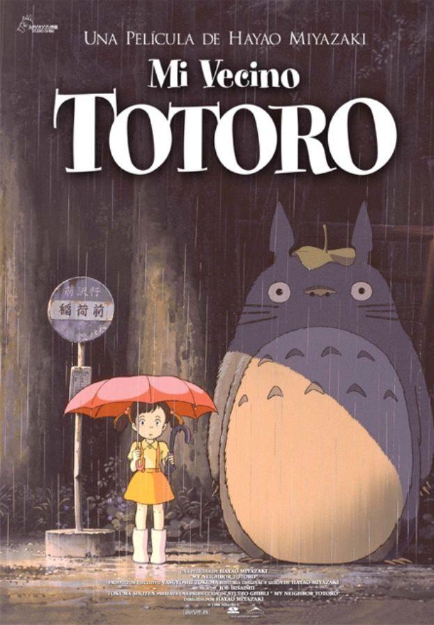 Mi Vecino Totoro Peliculas De Anime Totoro Hayao Miyazaki