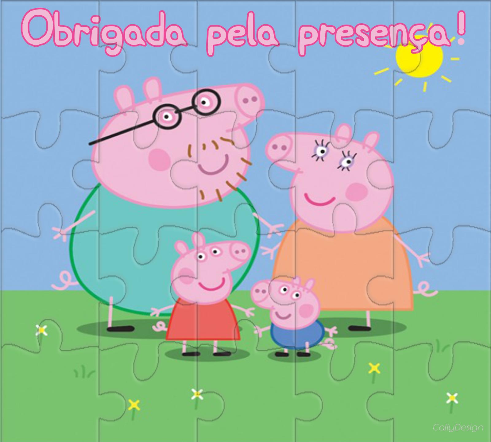 Quebra Cabeça e Jogo da Memória Personalizados para Imprimir - CALLY'S  DESIGN-Kits Personalizados Gratuitos. Aniversário PeppaFesta Peppa PigConvites  ...