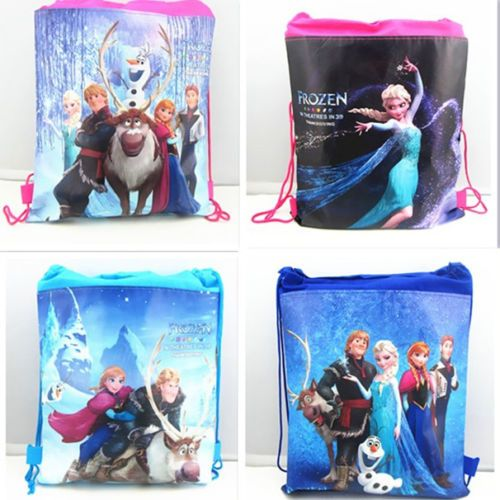 Free Disney Backpack Frozen Swimming Clothes Environmental PE Toy Drawstring Bag