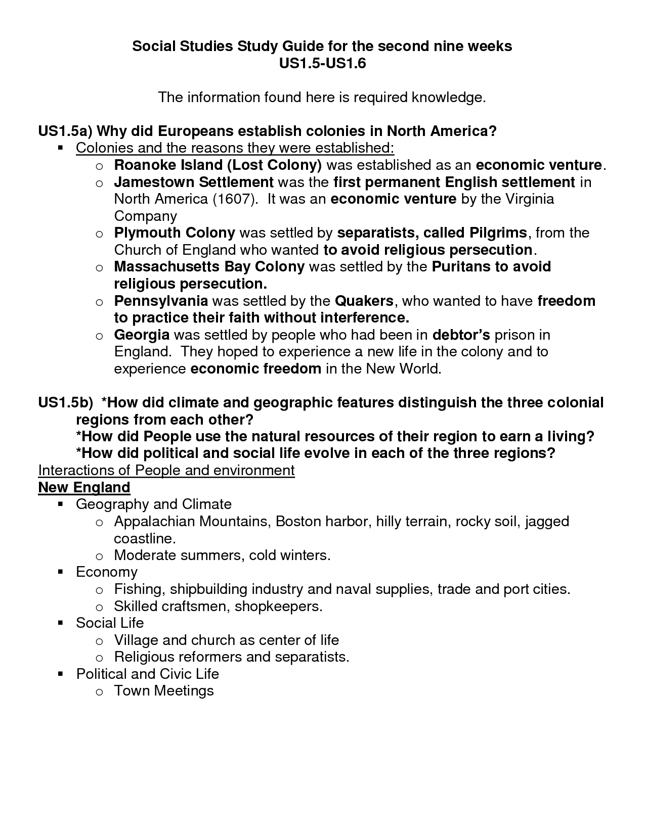 worksheet Ged Social Studies Worksheets fourth grade study guides on socil studies social guide for the second nine