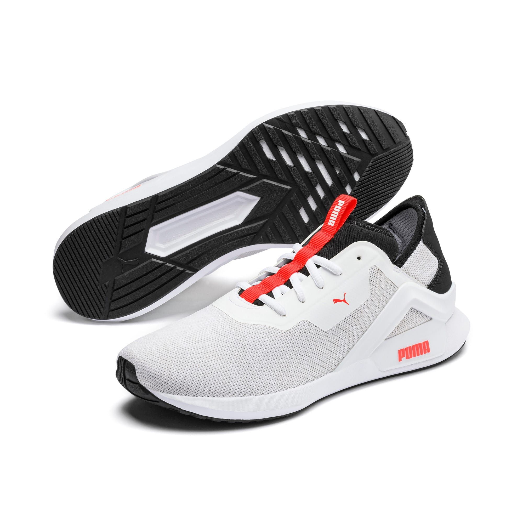 PUMA Rogue x Knit Men's Trainers in WhiteBlackRed size 7
