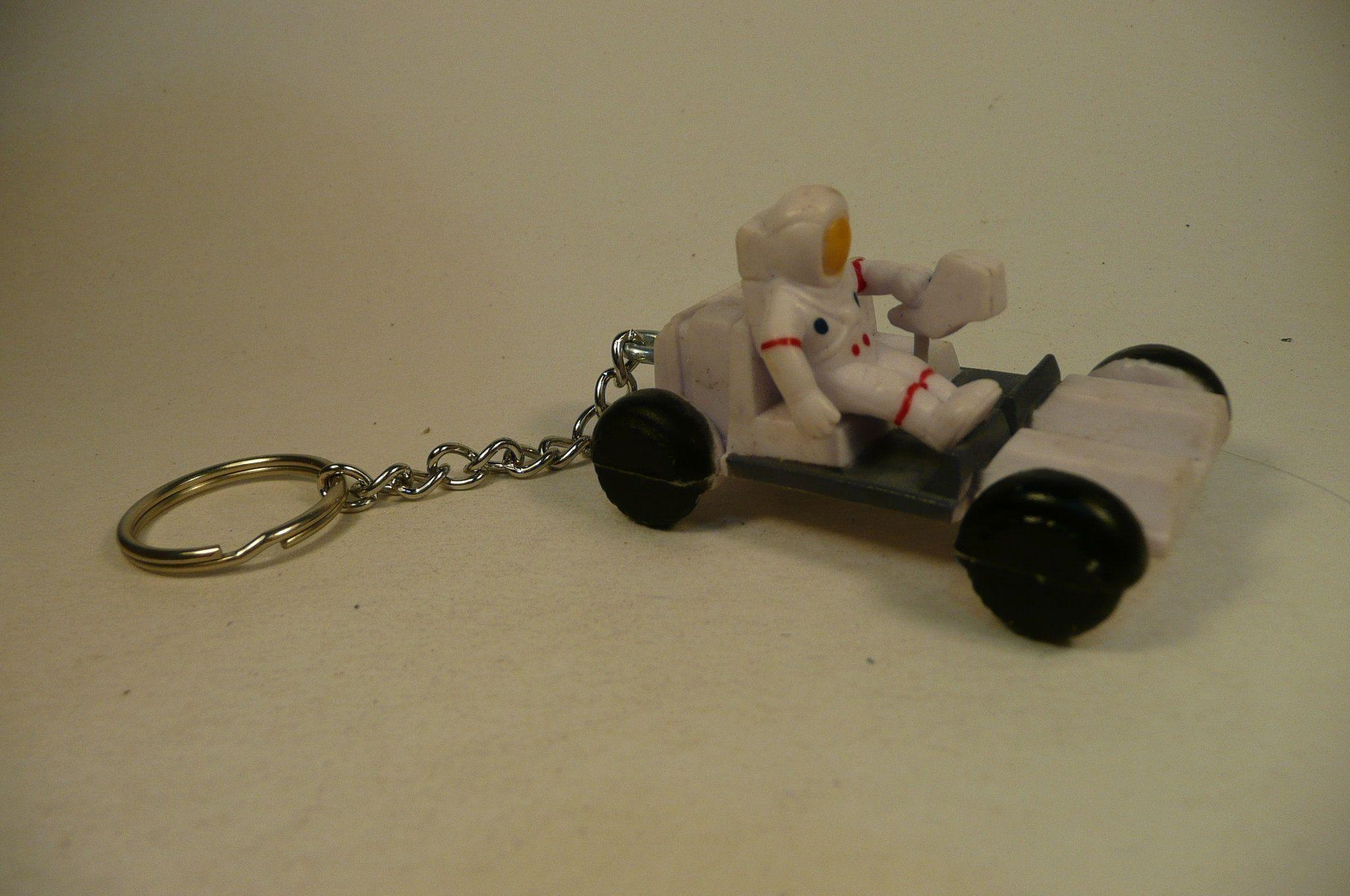 Keychain LUNAR ROVER NASA moon buggy rover  key chain