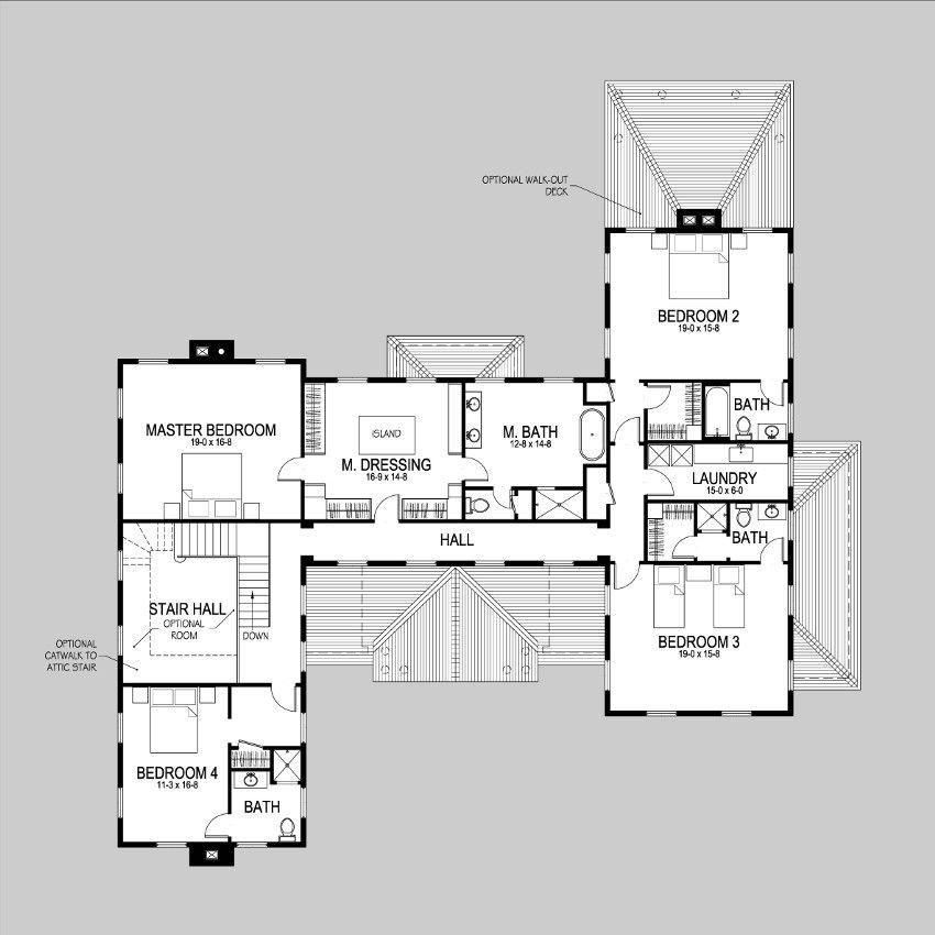 Meadowmere Lane Shingle Style Home Plans By David Neff Architect House Plans Shingle Style Homes Plan Design