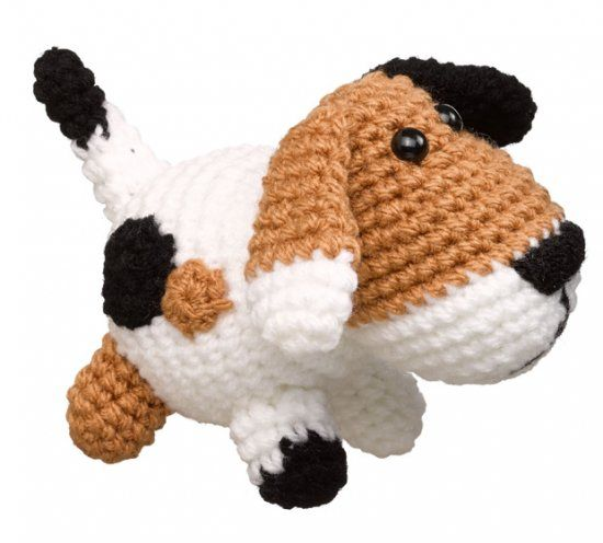 Häkelmuster: Hund häkeln - so geht\'s! | Amigurumi, Crochet and Free ...