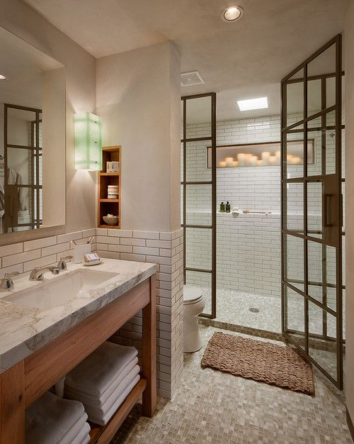 Pin By Planete Deco On It S All About The Bath Bathroom Design Steel Doors And Windows Bathroom Inspiration Odd shaped bathroom design ideas