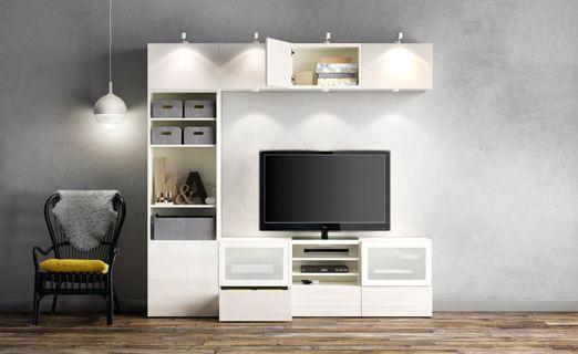 BESTÅ, TV Storage Combination Jordan Stations Apartment   Plastik Mobe  Phantastisch