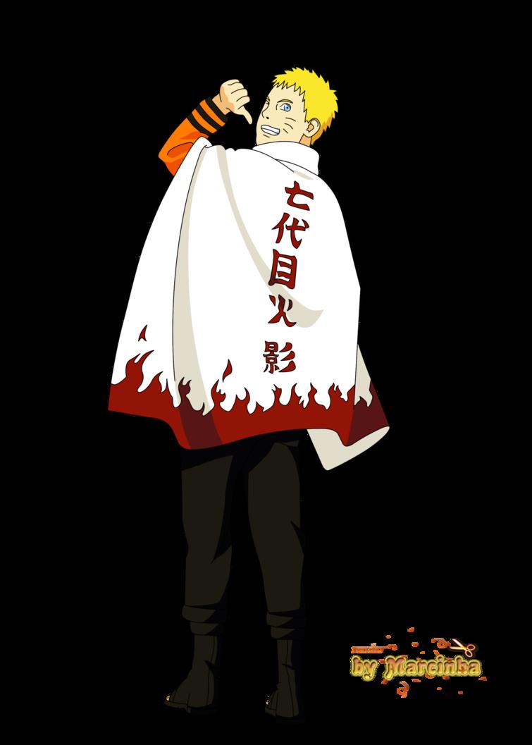 Naruto 7th Hokage By Marcinha20 Deviantart Com On Deviantart