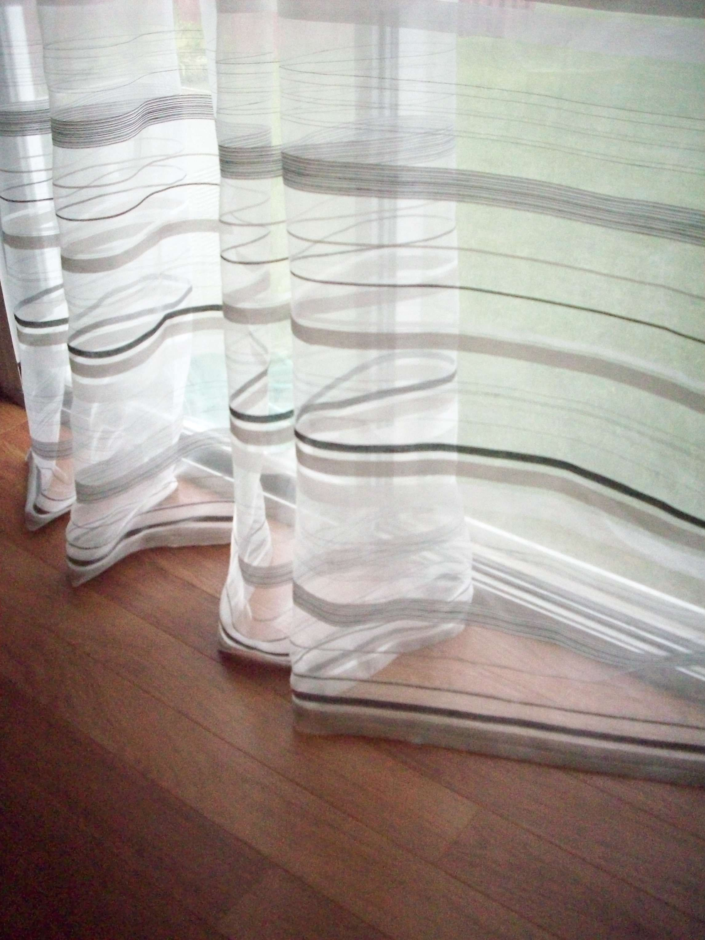 How to make sheer curtain panels