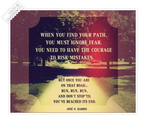 Your Path Quote Quotes To Live By Pinterest Quotes