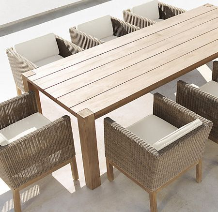 Mix Match Outdoor Furniture House, Garden Dining Tables