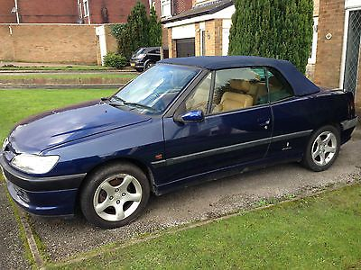 Peugeot 306 Cabriolet Convertible 1998 2 0 Low Mileage Winter Project