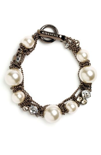 Givenchy Vanguard Small Faux Pearl Bracelet Nordstrom