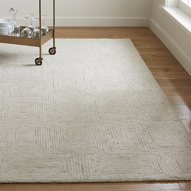 Presley Neutral Heathered Rug Crate And Barrel In 2020 Crate And Barrel Rugs Neutral Rugs Room Rugs