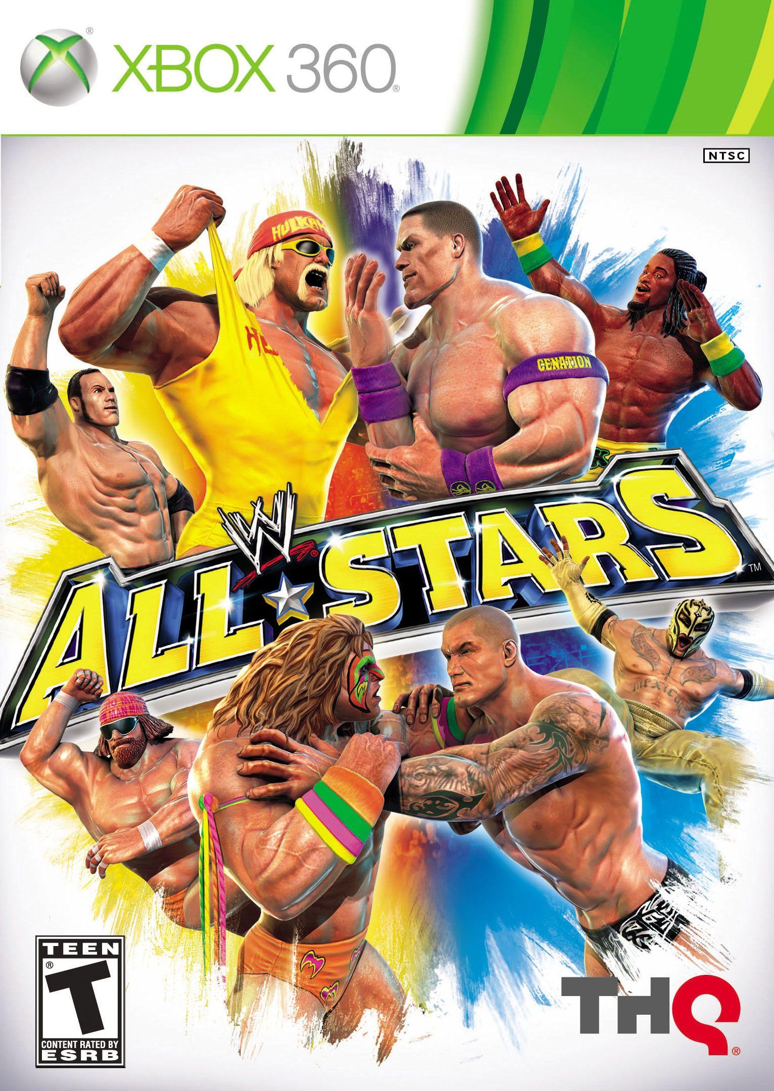 WWE All Stars [XBox 360] Wrestling games, Wwe all