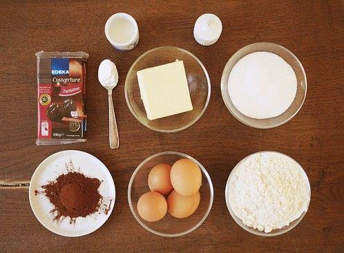 Mein Marmorkuchen vor der Entstehung