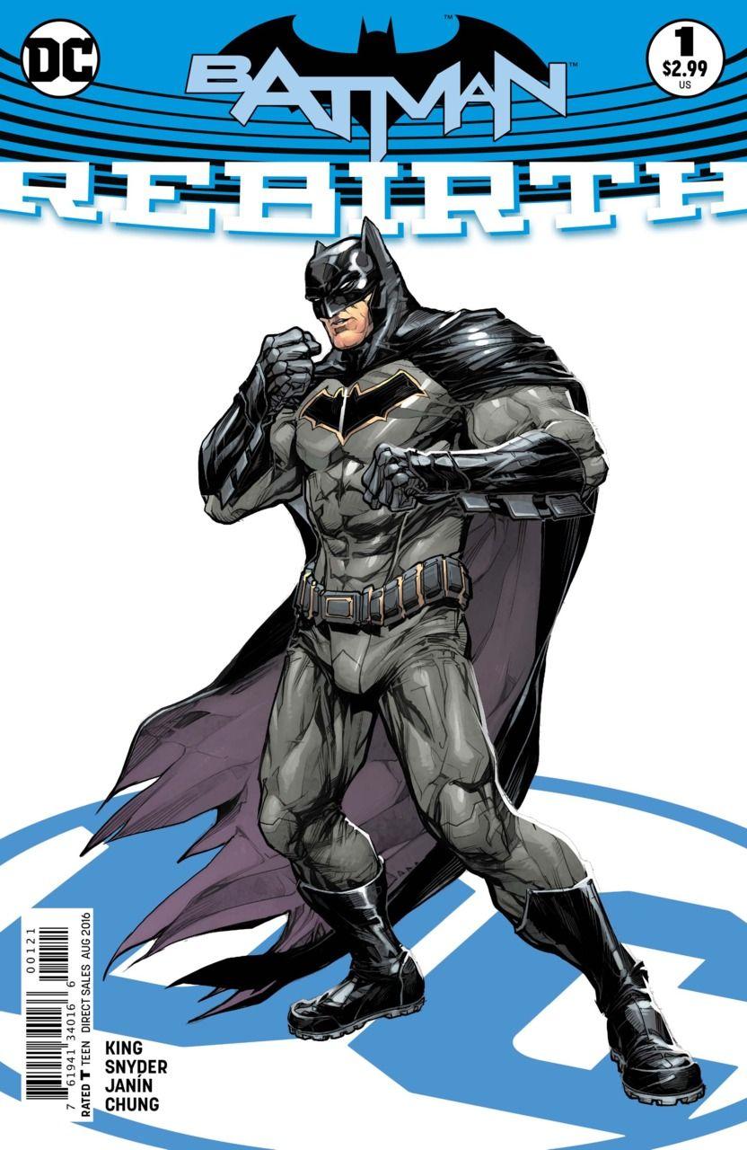 Preview: BATMAN REBIRTH #1 - Comic Vine
