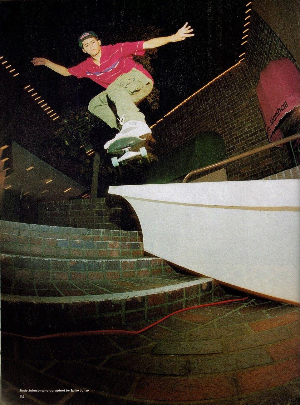 Rudy Johnson Skate, Street culture, Chrome ball