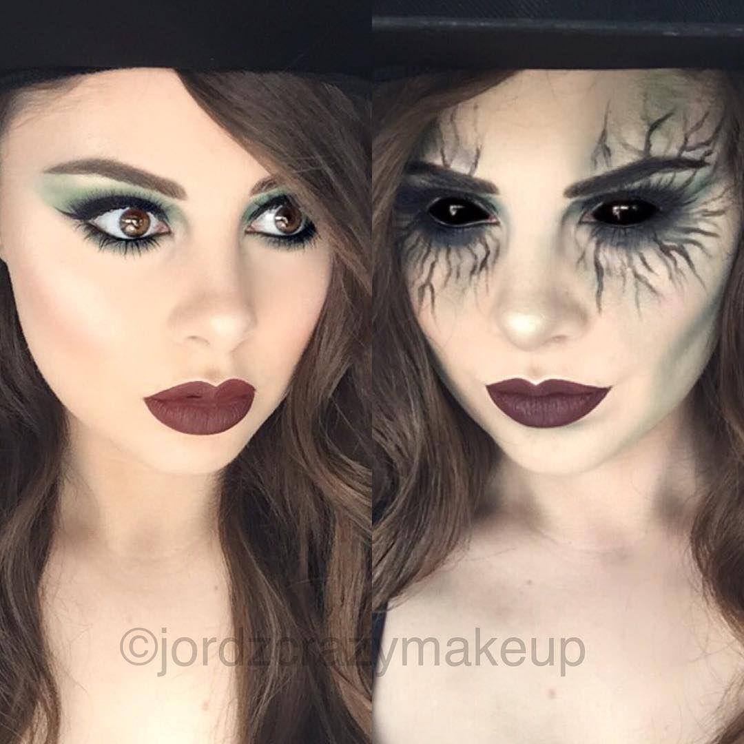 Instagram Photo By Jordan Oct 24 2015 At 8 36am Utc Halloween Makeup Witch Witch Makeup Evil Makeup