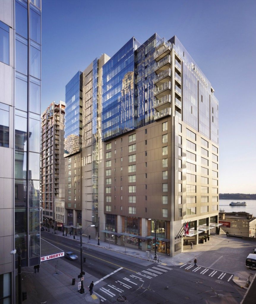 99 Union Street In Seattle Luxury Homes Exterior Modern Skyscrapers Renting A House