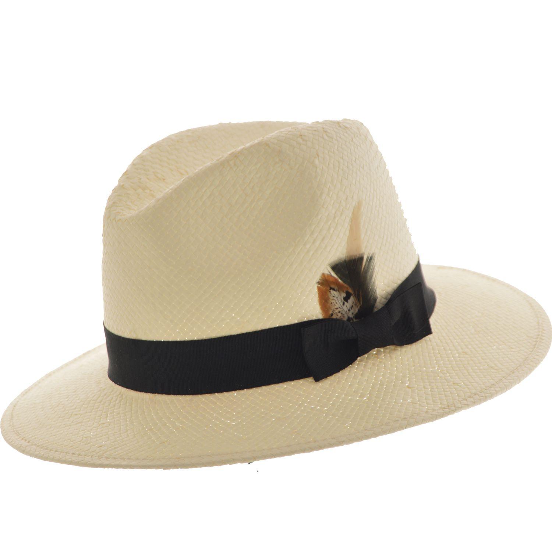 SOMBRERO AUSTRALIANO SIMIL PANAMA Sombrero modelo australiano en simil  panama Ala de 7 cm y altura de copa de 10 cm   620.00 7bfb8ad9e23