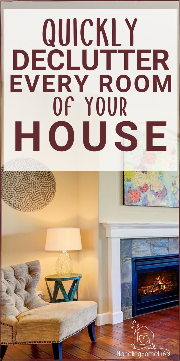 How To Declutter Your Home Quickly Free Decluttering Checklist