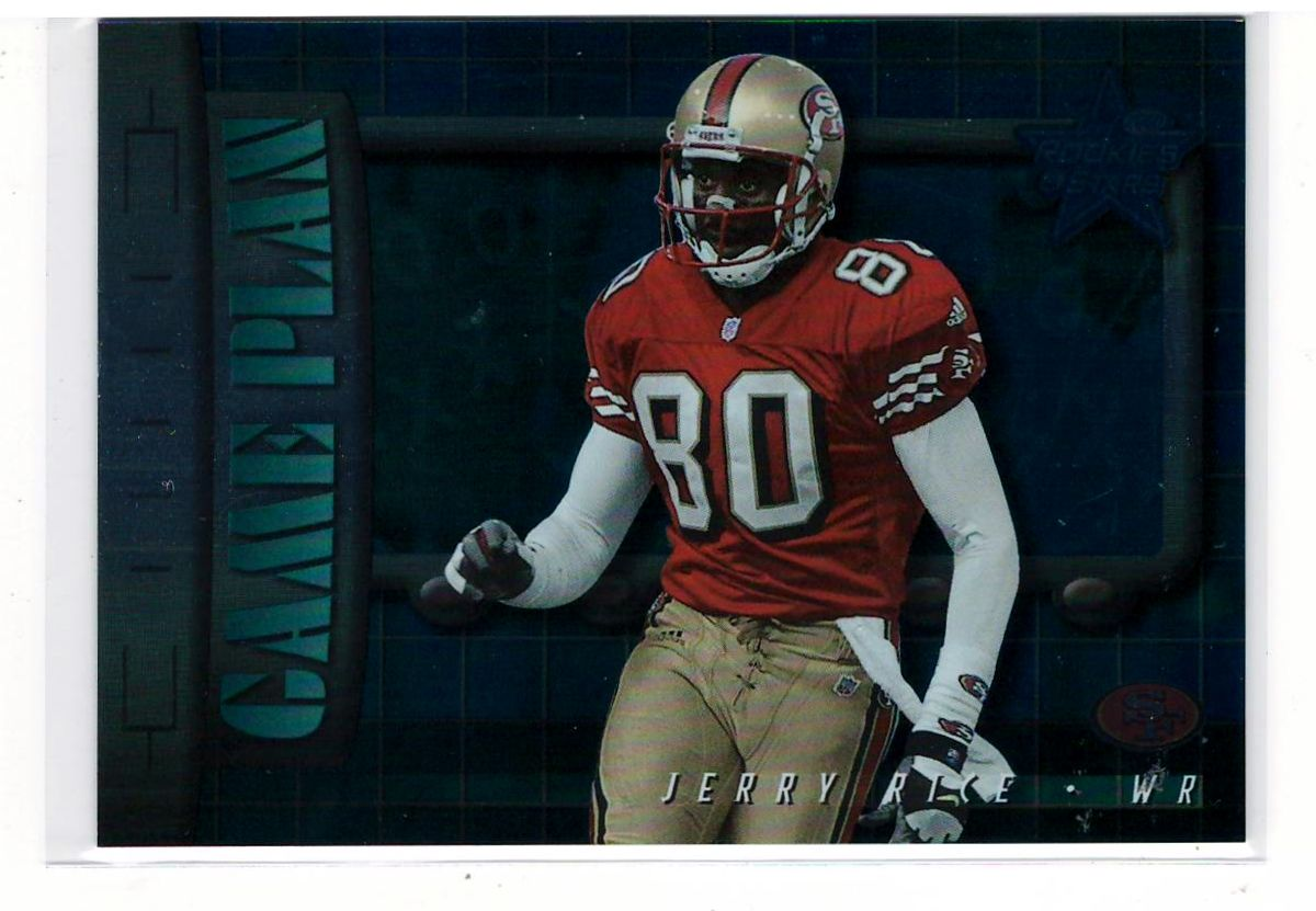 Jerry Rice 2000 Leaf R&S (Game Plan) NFL Sports Cards
