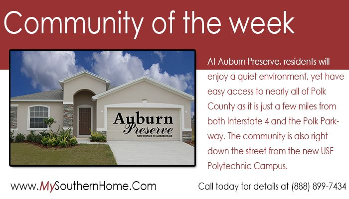 Auburn Preserve Http Mysouthernhome Com New Homes In Auburn Preserve Php New Home Communities Southern Homes Companies House