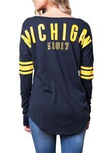 252bd2d33 University of Michigan Womens Spirit Football Jersey