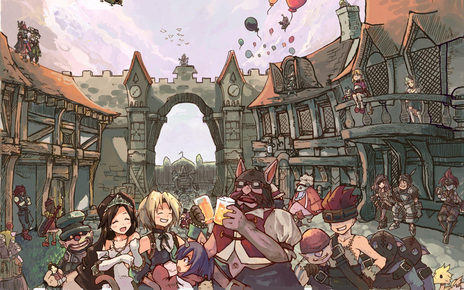 Final Fantasy Final Fantasy Ix Vivi Final Fantasy Ix Moguri