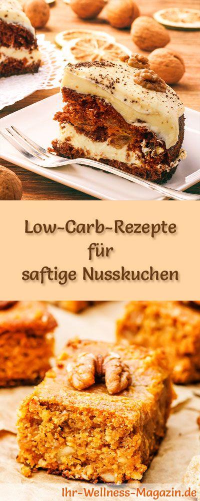 11 Saftige Low Carb Nusskuchen Rezepte Ohne Zucker Low Carb Kuchen