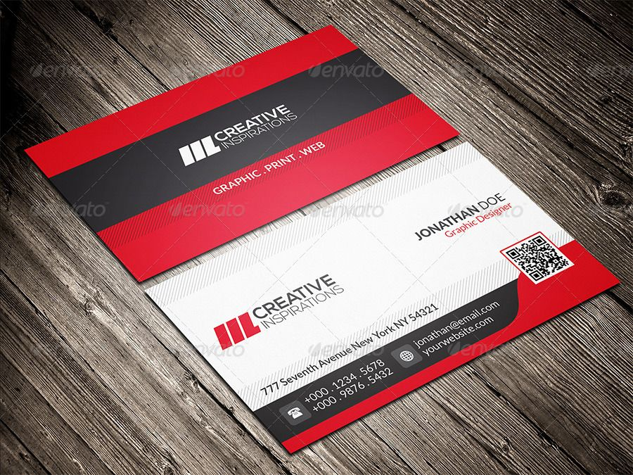 Modern Corporate Business Card Corporate Business Card