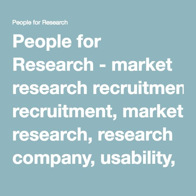 People for Research - market research recruitment, market research, research company, usability, user testing, website testing, focus groups, depth interviews, accompanied shops, mobile apps, quantitative, surveys, game testing.