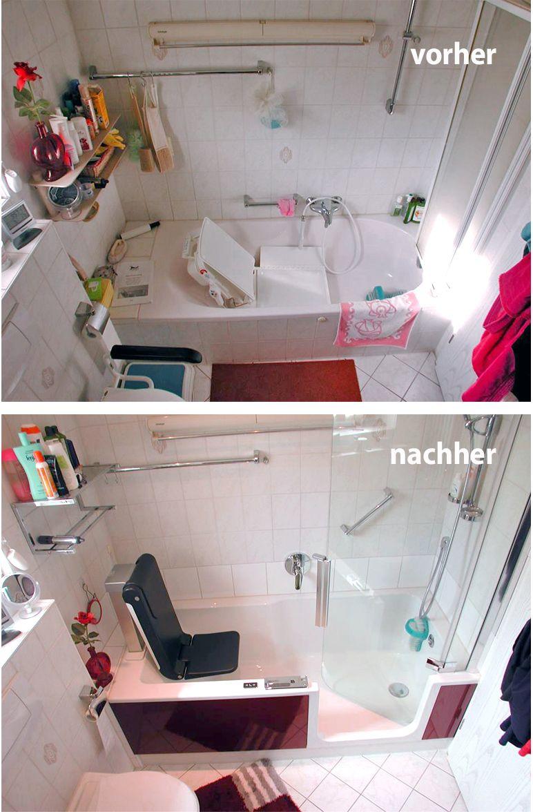 Komfort Und Barrierefreiheit Beginnt Im Bad Duschbadewanne Wanne Dusche
