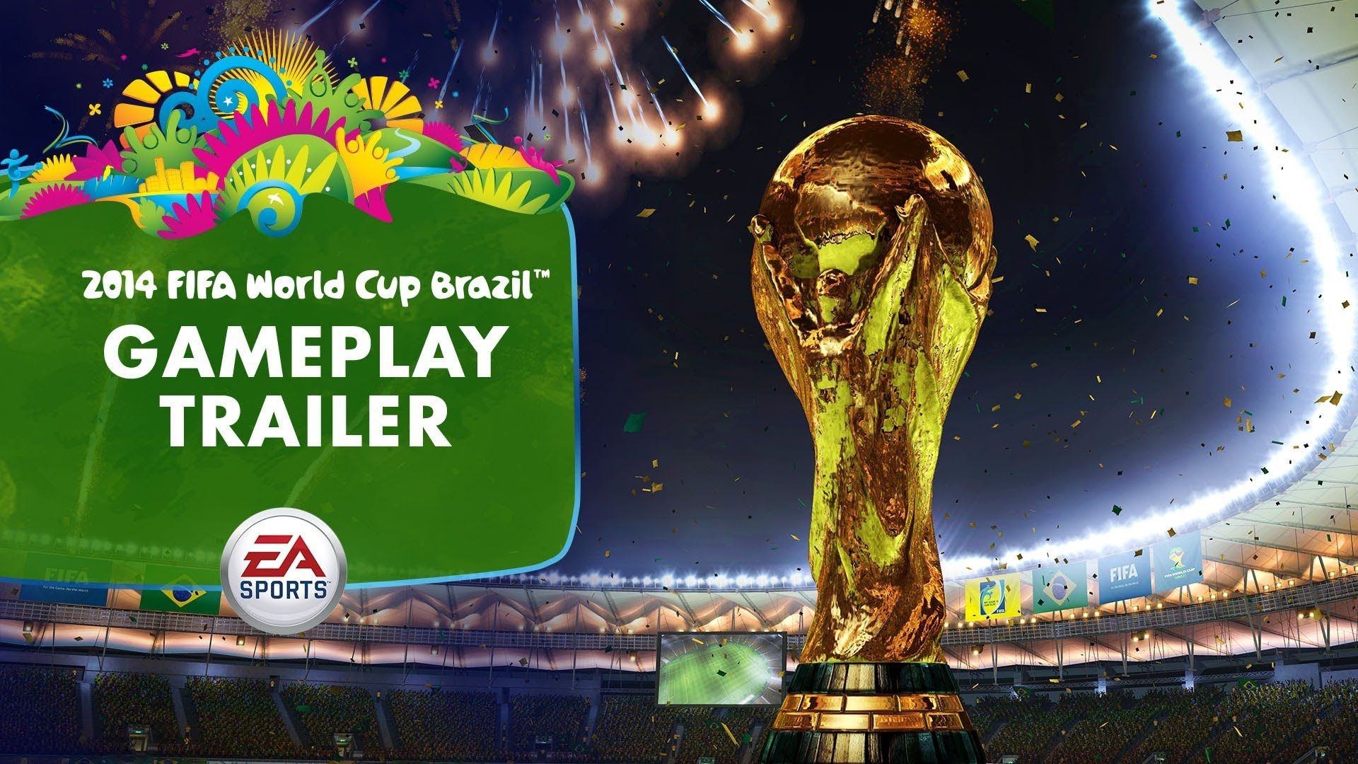 Ea Sports 2014 Fifa World Cup Gameplay Trailer Ea Fifa Fifa
