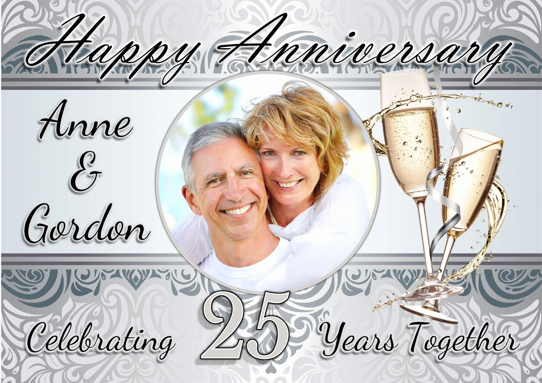 25th Wedding Anniversary Invitations Templates Elegant 25th Wed Wedding Anniversary Invitations 25th Wedding Anniversary Invitations Silver Wedding Anniversary
