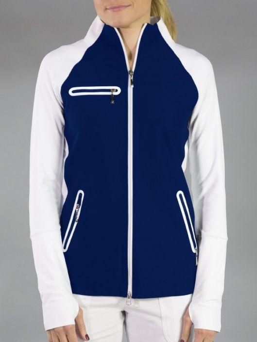 Napa Blue Depth Jofit Ladies Plus Size Stellar Golf Tennis Jacket More Ladies Outerwear At Lorisgolfshoppe Outerwear Women Tennis Clothes Golf Outfit