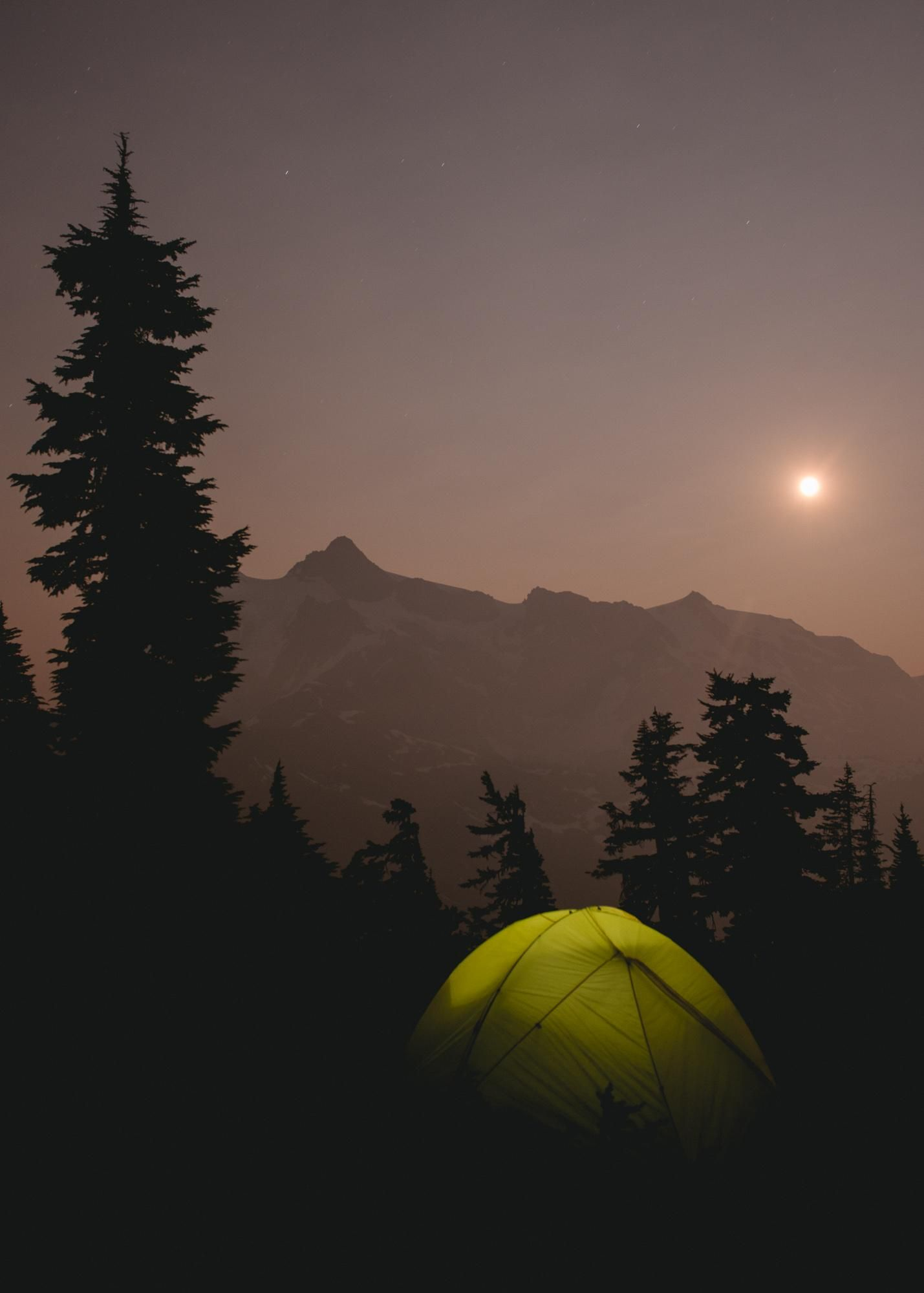 One of my favourite nights this summer. #camping #hiking # ...
