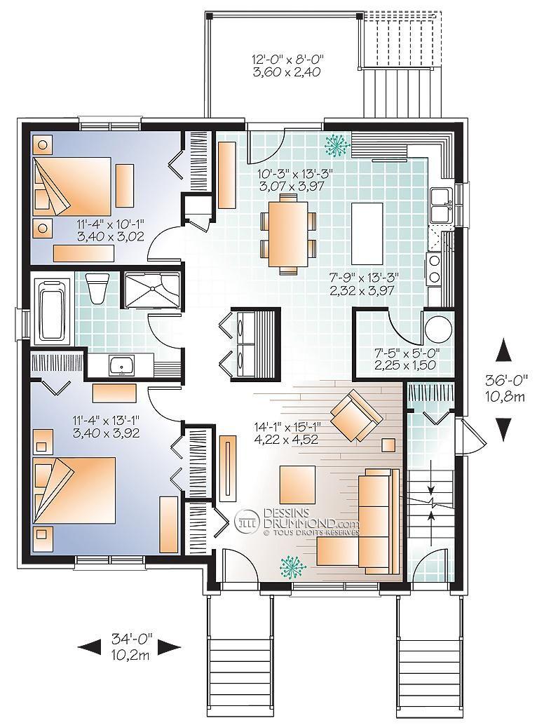 8 Plan Maison Zen Quebec Modular Home Floor Plans House Plans Contemporary House Plans