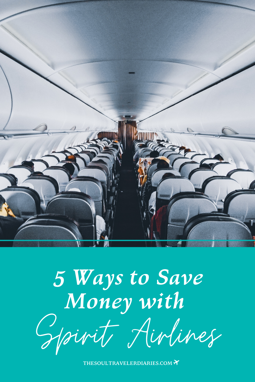 Saving money with budget airlines may seem like overkill. But if you had the choice between a $50 roundtrip ticket or a $100 roundtrip ticket, which would you choose? Here are 5 tried and tested steps that save me money on my flights with Spirit every time!! #spiritairlines #budgetairlines #cheapflightdeals #flightdeals