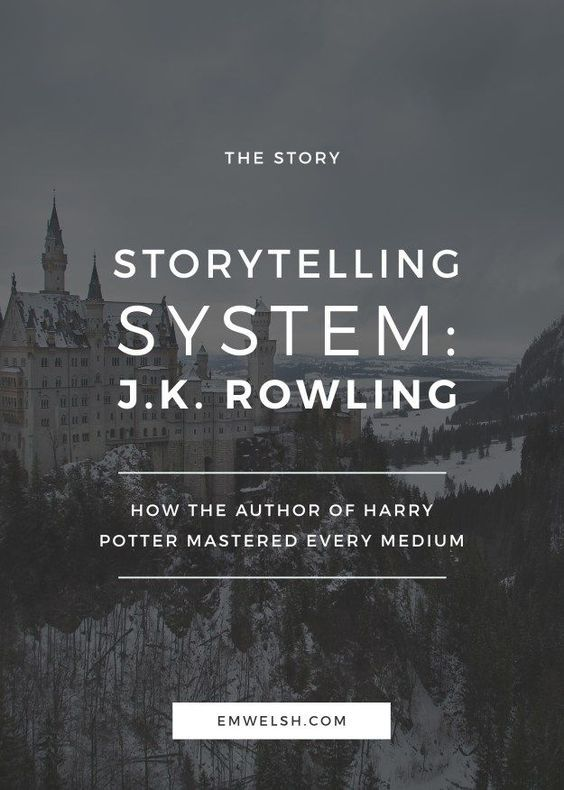 How J K Rowling Mastered Writing In Different Mediums Writing