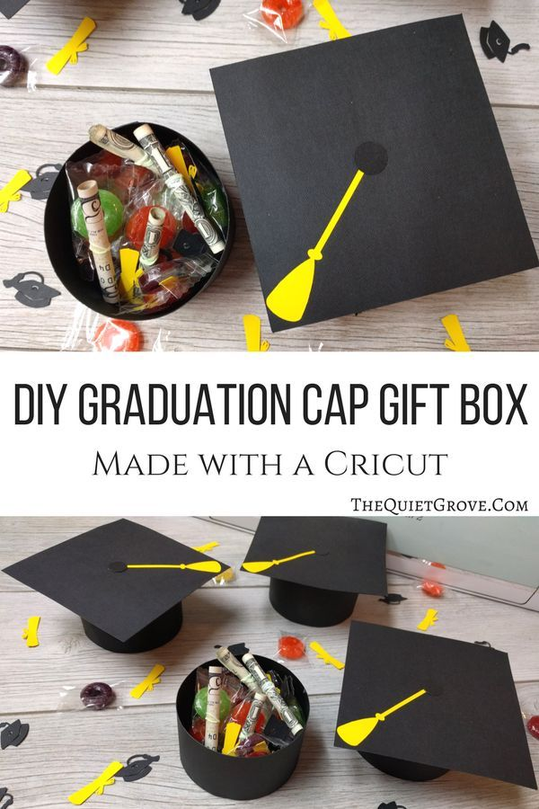 Diy graduation cap gift boxes via graduationgift cricut diy graduation cap gift boxes via graduationgift cricut graduation publicscrutiny Choice Image