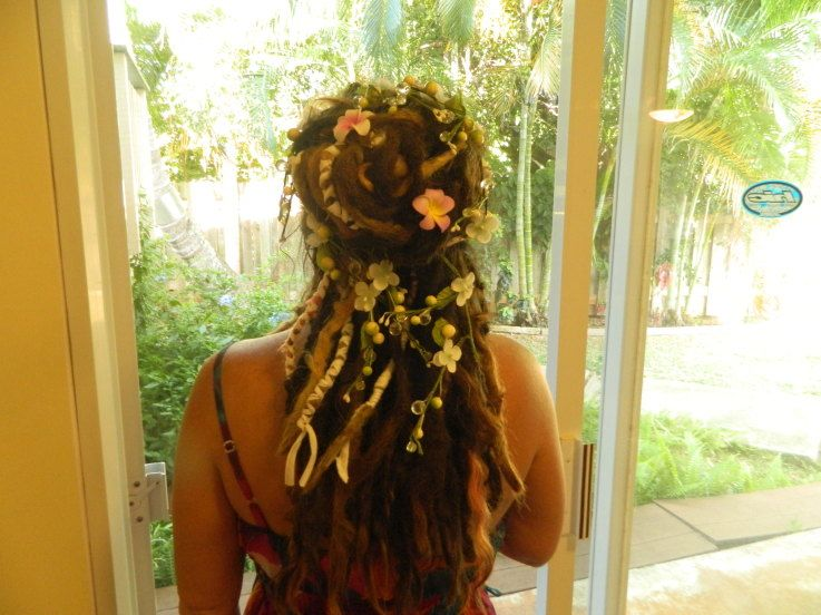 Astounding 1000 Images About Dreadlocks On Pinterest Updo Wedding And Short Hairstyles For Black Women Fulllsitofus