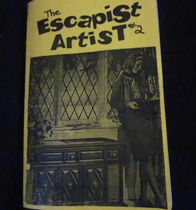 The Escapist Artist (feminist zine, particularly teenage diary pages from the author)