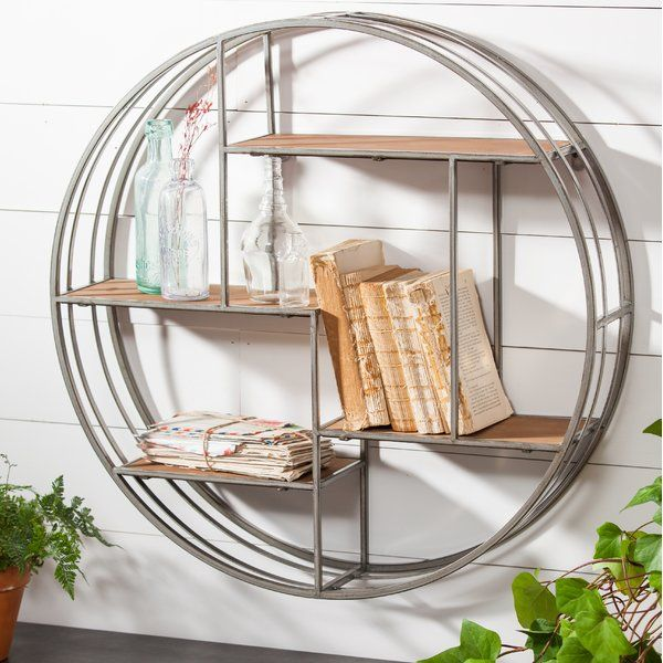 Noam Round Wall Shelf Round Wall Shelves Metal Wall Shelves