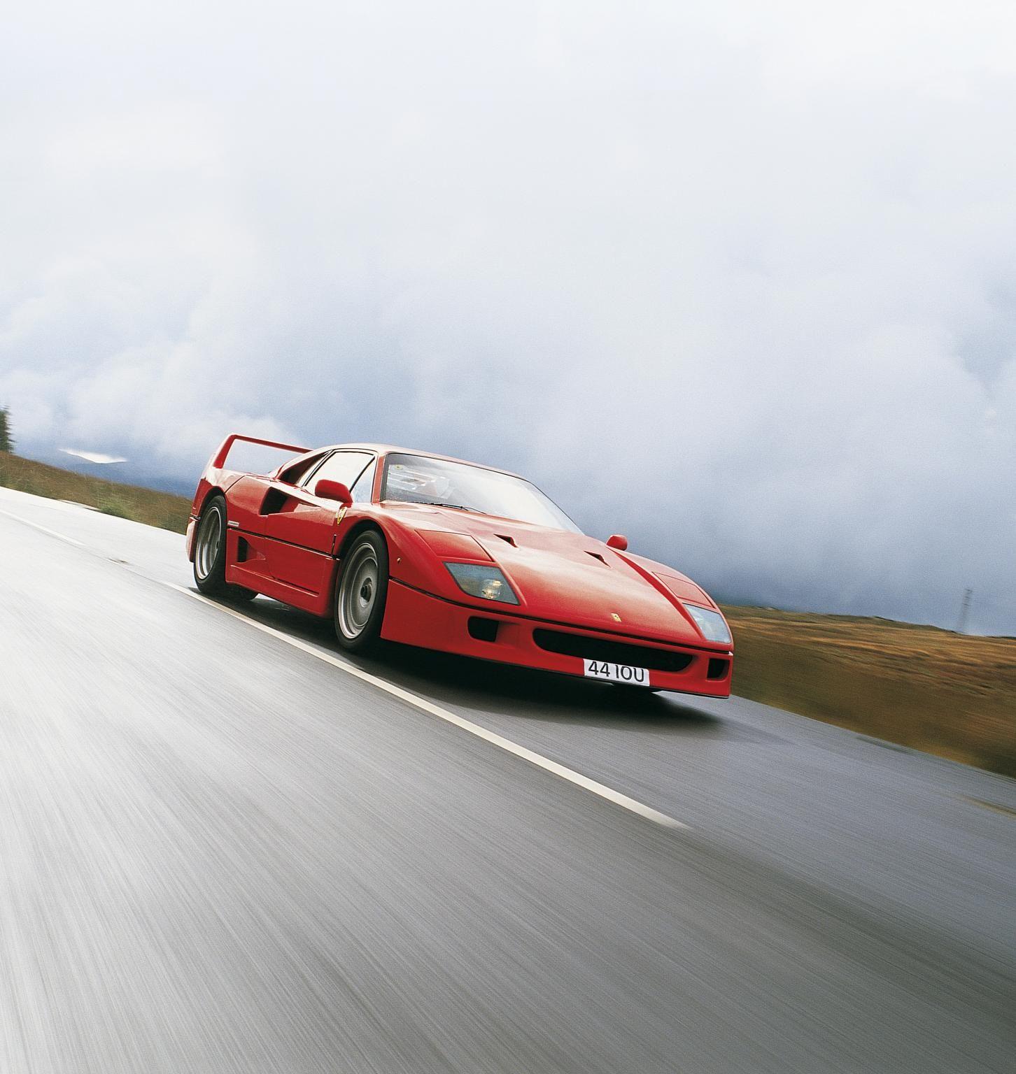 EVO's 288 GTO / F40 / F50 / Enzo Comparison